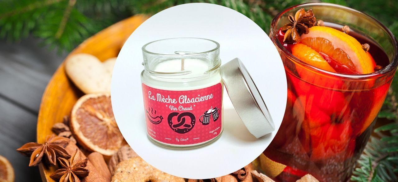 bougie artisanale Alsace