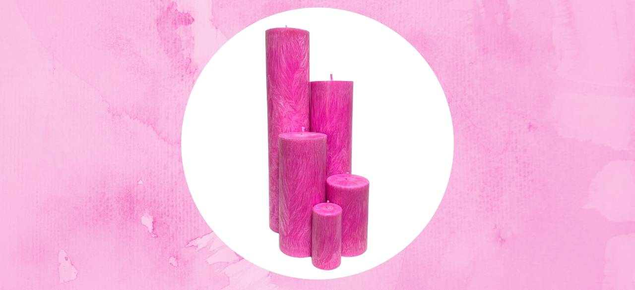 bougies cylindriques