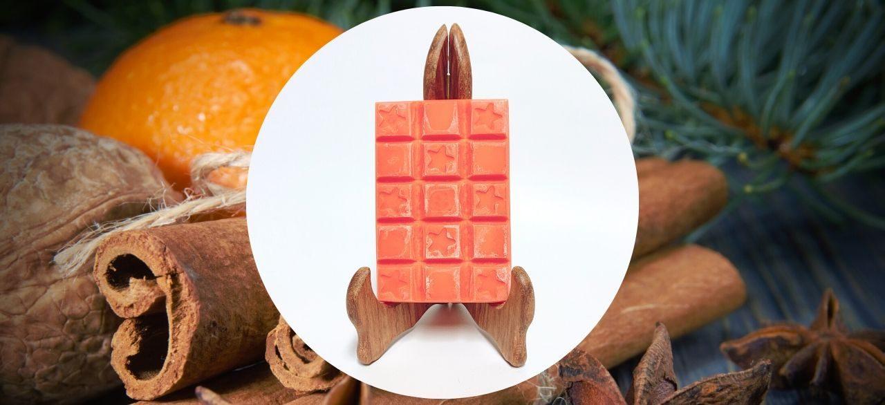 cire parfumée orange aux epices