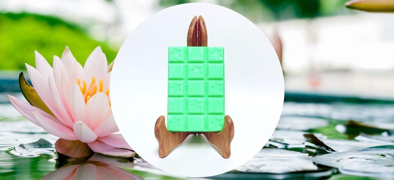 cire parfumee fleur de lotus
