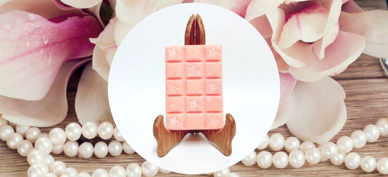 carré de cire parfumee magnolia