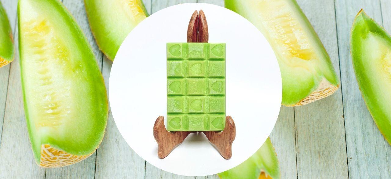 tablette de cire parfumee melon