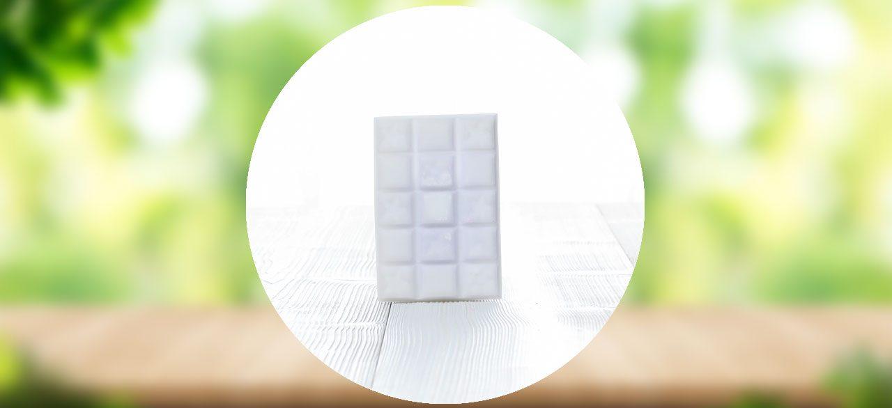 tablette cire fleur de coton