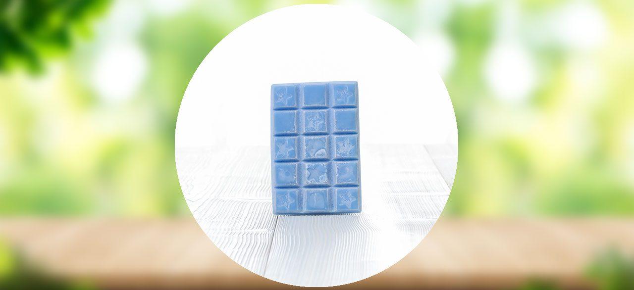 tablette cire parfum vanille
