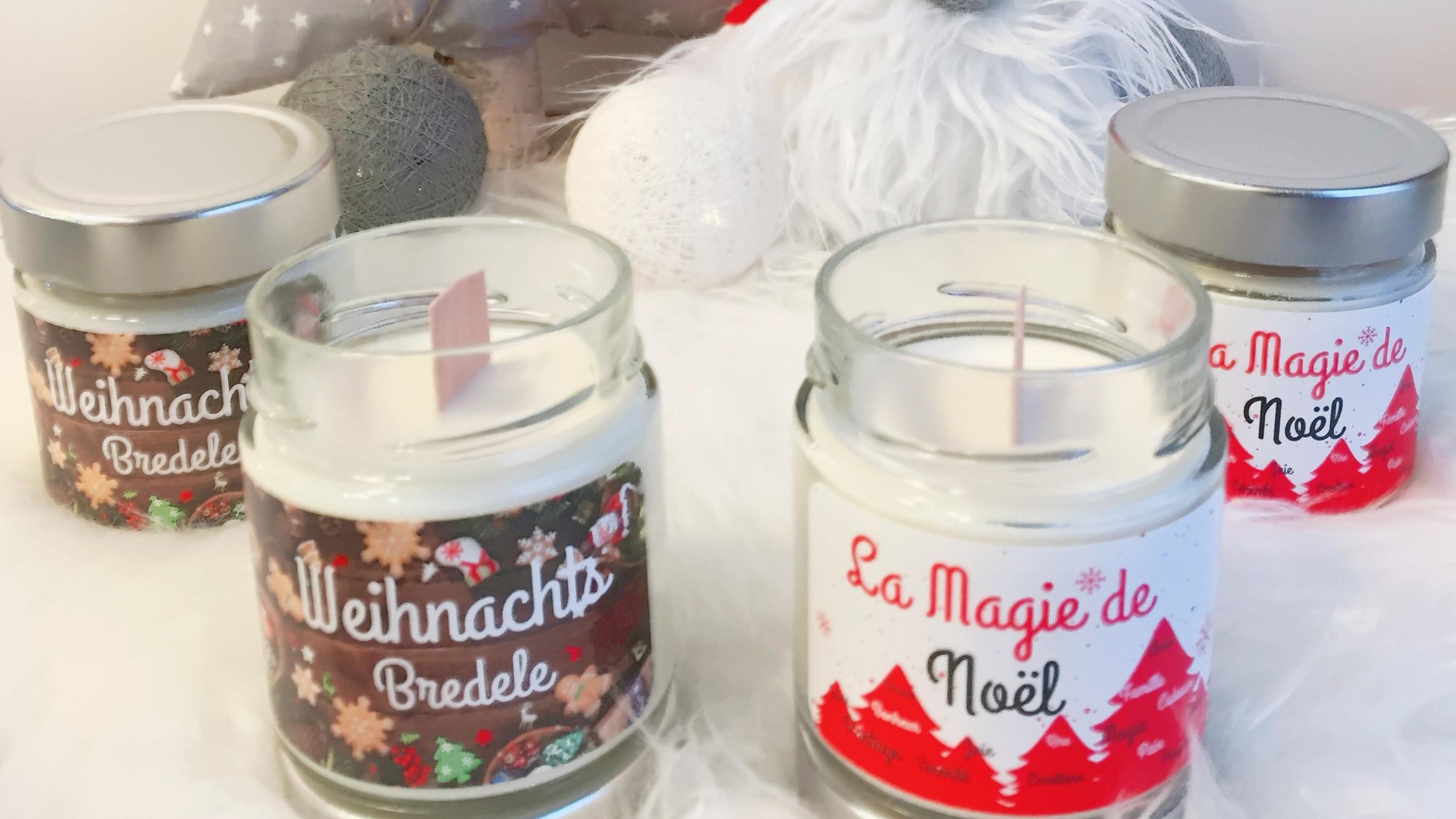 Deux nouvelles bougies : Bougies de noël