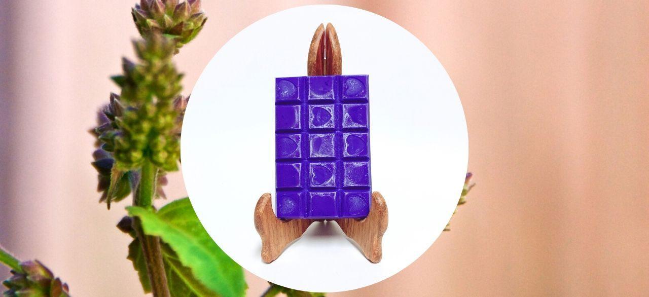 tablette de cire parfumee patchouli