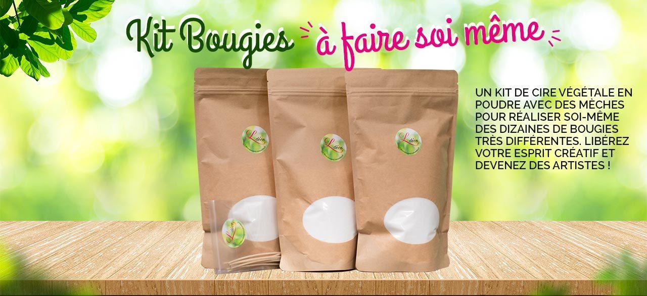 kit creation bougie