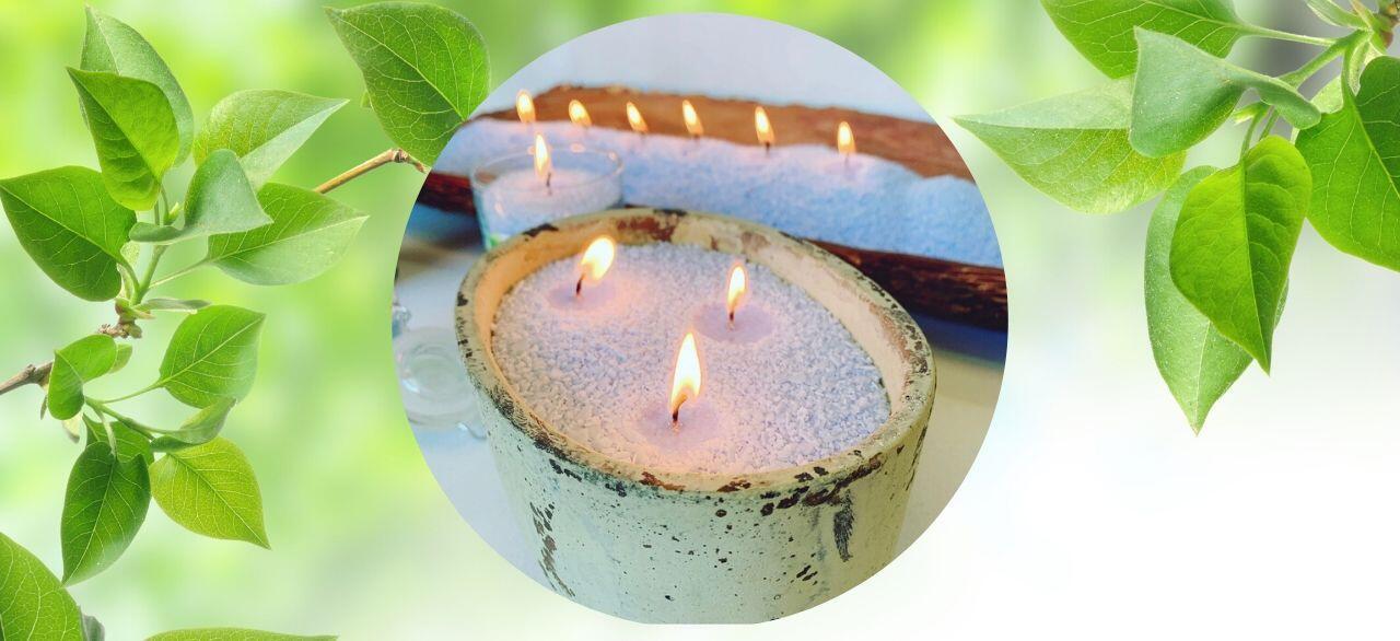 fabriquer ses bougies naturelles