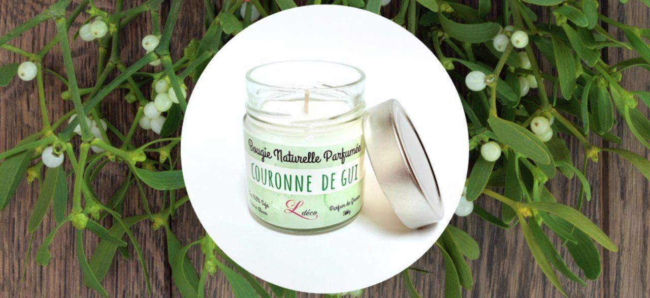 bougie parfumee naturelle