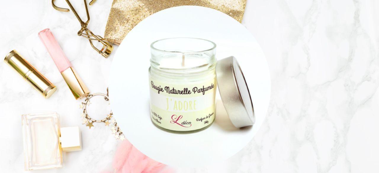 Bougie parfumee artisanale