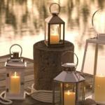 Lanternes et photophores de jardin