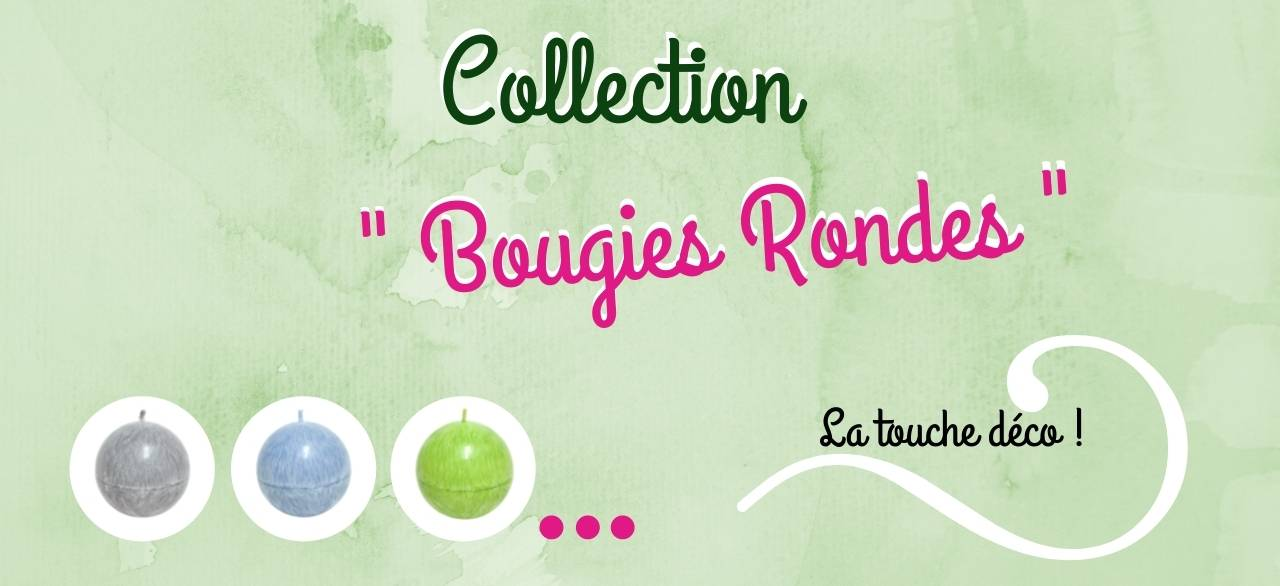 bougie ronde